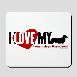 Dachshund [long-haired] Mousepad